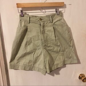 Eddie Bauer sea-foam green shorts size 6